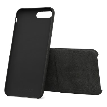 dodocool PU Leather Phone Wallet Case Protective Shell Credit Card Holder Slot 5.5-inch iPhone 7 Plus Black