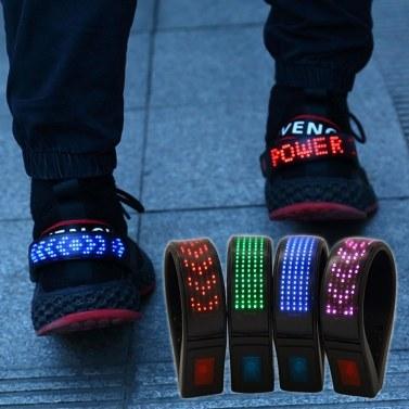 LED-Schuhclip-Leuchten Clip-on-LED-Sicherheitsleuchte für Schuhe IP67 Wasserdichter USB-Akku zum Laufen Joggen Spazierengehen Radfahren