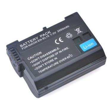 EN-EL15 Full Coded Digital Battery for Nikon SLR D7100 D7000 D800 MB-D15
