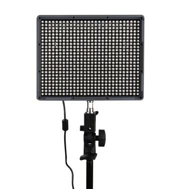 Aputure Amaran HR672C führte Video Light CRI95 + 672 geführte lichtschrank Temperatur Helligkeitsregelung mit Funkfernbedienung