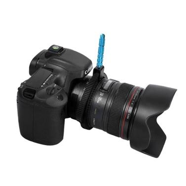 Gummi Follow Focus Zahnrad-Ring Gürtel mit Aluminiumlegierung-Grip für DSLR Camcorder Kamera