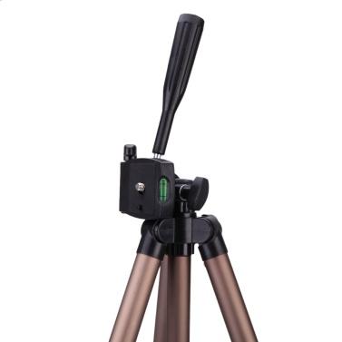 Weifeng WT3130 Portable Lightweight Aluminum Camera Tripod with Rocker Arm Carry Bag