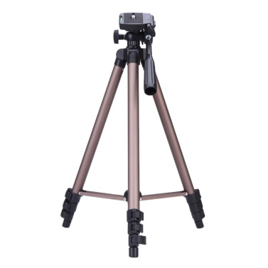 Weifeng WT3130 Portable Lightweight Aluminum Camera Tripod with Rocker Arm Carry Bag