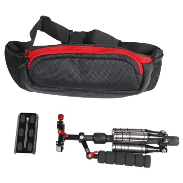 Second Hand Andoer Adjustable Plate Carbon Fiber Professional Photography Stabilizer Monopod Camcorder DV Video Camera DSLR