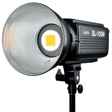 Godox SL-100W 2400 LUX Mount Studio LED kontinuierliche Video Licht Bowens