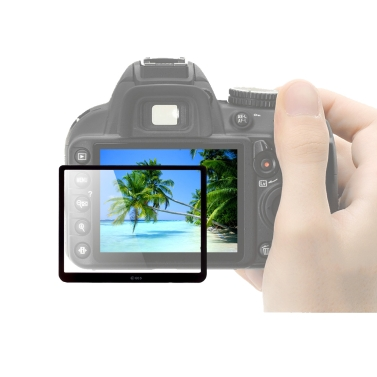 GGS Optical Glass DSLR LCD Screen Protector for Nikon 3100