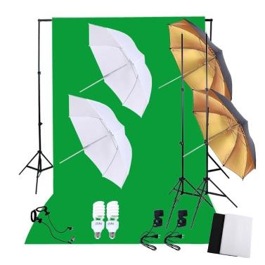 Fotografie-Beleuchtung-Installationssatz-Satz mit 45W Tageslicht-Birnen