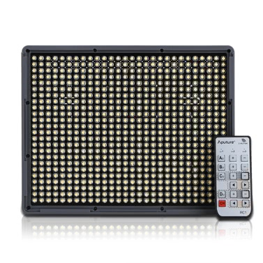 Aputure Amaran HR672S 672pcs LED Video Light CRI95+ Light Panel with F970 Batteries Wireless Remote Control for Nikon Canon Pentax Sony Photography