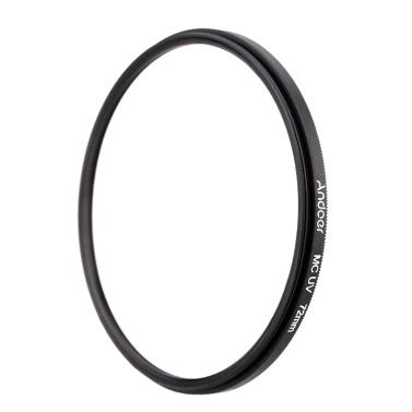 72mm Ultradünne Multi-Coated MC UV ultravioletter Filter Objektiv-Schutz für Canon Nikon DSLR-Kamera