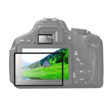 Andoer® GGS optisches Glas-DSLR Kamera LCD Schutzfolie Displayschutzfolie für Canon Rebel T4i 650D Kamera