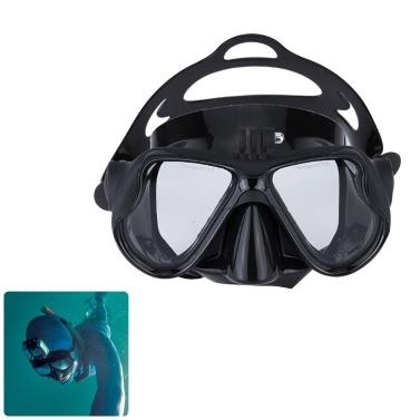 Máscara de submarinismo Esnórquel  Buceo Gafas de Natación con Soporte de Montaje para GoPro héroe 4 3 + 3 2 1 SJ4000 SJ5000 SJCAM Cámara Dazzne P2 Xiaomi Yi Deportes Acción