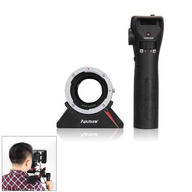 Aputure DEC Radio Wireless Remote Adapter Aperture Follow Focus Controller Canon EOS EF Lens Sony E Mount Camcorder