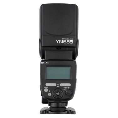 YONGNUO YN685 E-TTL HSS 1/8000s GN60 2.4G Drahtlos Blitz Speedlite Blitzgerät für Canon DSLR Kameras Compatible mit YONGNUO 622C/603 drahtlos System