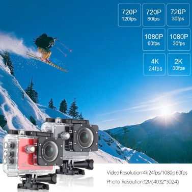 Original SJCAM SJ5000X Wifi Full HD 4K 24fps 1080P 60fps 12MP Action Camera