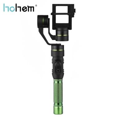 Second Hand hohem HG5 PRO 3-Axis Handheld Stabilizing Gimbal Action Camera Gimbal Stabilizer 3-Axis 360u00b0 Coverage 5-Way Joystick Control GoPro Hero5 4 3 Xiaoyi Action Cameras Similar Size