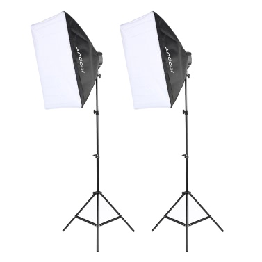 Andoer Studio Foto Beleuchtung Kit