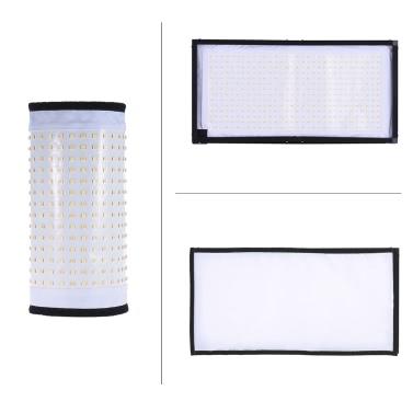 Travor FL-3060A LED-Licht Doppel-Farbtemperatur 3200K-5500K CRI90 + 85W Max.8000LM Flexible Tuch Roll-up Hand-LED Video Fotografie Film Fill-in Light Panel mit Fernbedienung