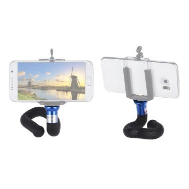 Flexible Stativ Einbeinstativ Selfie Stick Phone Stand Kamera Halterung für iPhone X / 8 / 7s plus für GoPro Hero 6/5/4/3 + Yi Lite 4 Karat + Action Kamera Digitalkamera