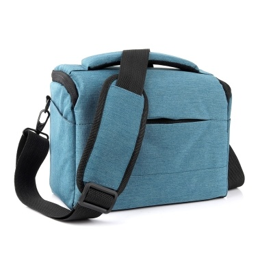 Camera Bag SLR/DSLR Gadget Bag Padding Shoulder Carrying Bag Photography Accessory Gear Case Waterproof Anti-Shock