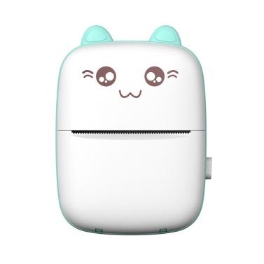 Portable Mini Pocket Printer BT Thermal Printer