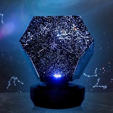 Baby Star Lampe Projektor Cosmic Galaxy Fun Star Sky Projektor Star Light Kinderschlaf USB Nachtlicht