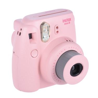 Fujifilm Instax Mini 8 Camera Film Photo Instant Cam Pop-up Lens Auto Metering