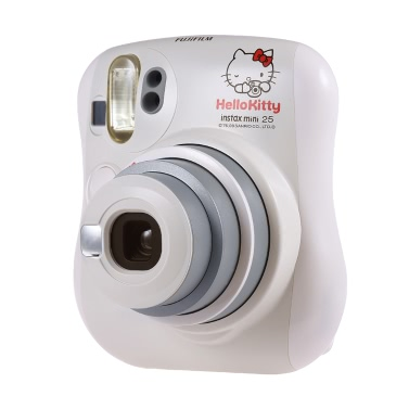 Fujifilm Instax Mini 25 Instant Kamera Eingebaute Selfie Spiegel Flash Dual Shutters Auto Pop-up Objektiv w / Close-up Objektiv