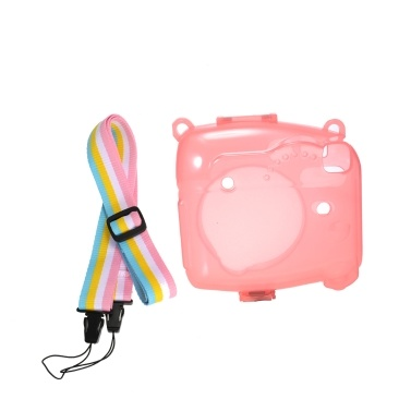 Lovely Camera Silicone Case Waterproof MINI8 Fluorescent Fine-quality Lightweight Waterproof Stylish Silicone Case