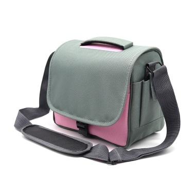 Camera Bag SLR/DSLR Professional Gadget Bag Padding Shoulder Carrying Bag