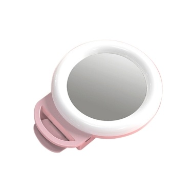 Mini RGB Smartphone Selfie Ring Light  Clip-on LED Beauty Light