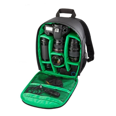 Novo saco de mochila multifuncional para câmera