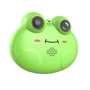 Nette Karikatur-Frosch-Form-Mini scherzt digitale Videokamera