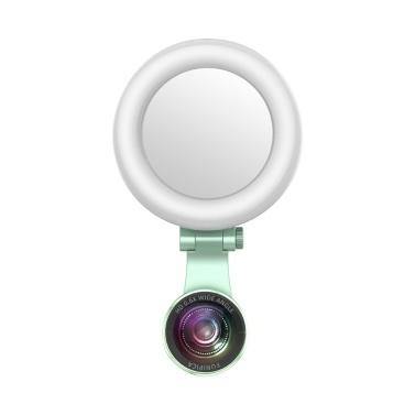 Wiederaufladbare Selfie Ringlicht