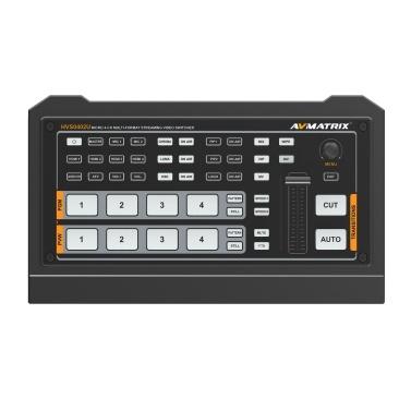 AVMATRIX HVSO402U Portable Multi-format Video Switcher