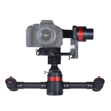 WenPod MD2 Handheld Intelligent Auto Calibration Soundless 3 Axis Gimbal Camera Video Stabilizer Gyro Canon Nikon Sony DSLR ILDC Mirrorless Cam Camcorder