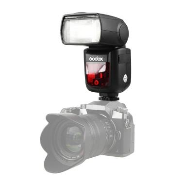 Godox VING V860IIO Pioneering TTL Li-ion Camera Flash Master & Slave Flash Speedlite 2.4G Wireless X System 1/8000s HSS GN60 with 2000mAh Li-ion Battery for Olympus E-M10II E-M5II E-M1 E-PL8/7/6/5 E-P5 E-P3 PEN-F for Panasonic DMC-GX85 G7 GF1 LX100 G85 GH4 FZ2500GK Cameras