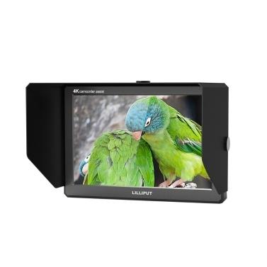 LILLIPUT A8 4K-Kamera-Monitor unterstützt HDMI-Signalübertragung für Camcorder-DSLR
