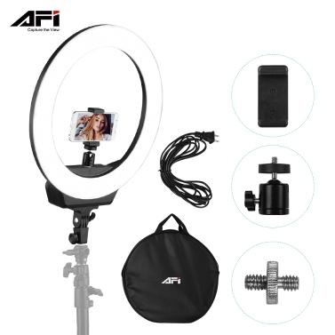 AFI 16 Zoll LED Ringlicht für Telefon und Kamera