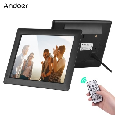 Andoer 9-Zoll-Desktop-Album mit ultradünnem IPS-LCD-Digitalfotorahmen