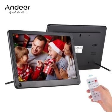 Andoer P101 10インチLEDデジタルフォトフレーム