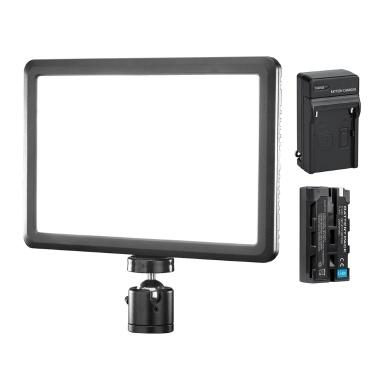 NiceFoto SL-150A Bi-Color Video Light Dimmable Soft Light Panel