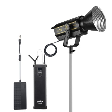 Godox VL300 5600K LED-Videoleuchte 300W CRI96 Bowens Mount