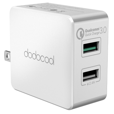 dodocool 30W двойственный USB стена зарядное устройство