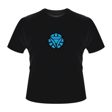 Iron Man2 LED T-Shirt