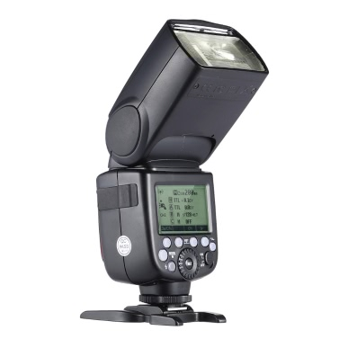 GODOX V860II-C E-TTL 1/8000 s HSS Master-Slave GN60 Speedlite Blitz eingebaute 2.4G Wireless X System mit 2000mAh wiederaufladbare Li-Ion Akku für Canon 1DX/5D Mark III/5D Mark II/6D/7D/60D/50D/40D/30D / 650D/600D