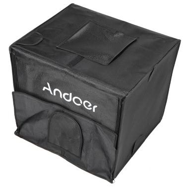 Andoer Faltbare Fotografie Studio LED Licht Zelt Kit Softbox