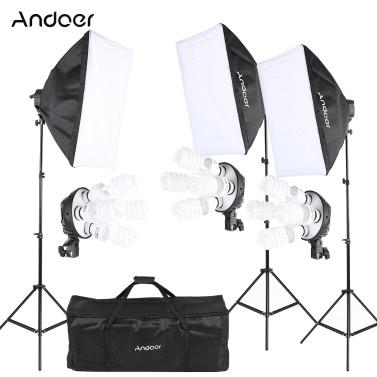 Andoer Photography Studio Lighting Tent Kit Photo Equipment