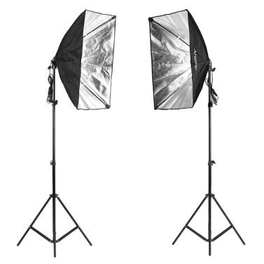 Una serie de Andoer Kit de Fotografía