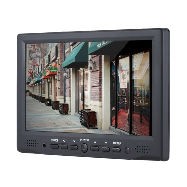 "Andoer AD-701 7 ""Professional Digital Field-Monitor 800 * 480 HD LCD Display 400cd / ㎡ High Definition Multimedia Interface Eingang für DSLR Full-HD-Kamera"