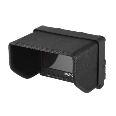 Andoer AD-702 7 Zoll ultradünne HD 1280 × 800 IPS Schirm-Kamera-Feldmonitor 400cd / ㎡ für High Definition Multimedia Interface AV-Eingang und Ausgang für DSLR-Kamera-Camcorder